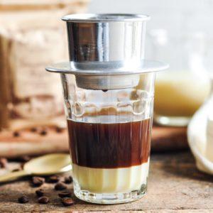 Brewing Vietnamese Coffee