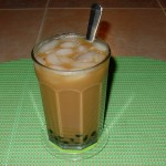 Iced Vietnamese Coffee with Boba