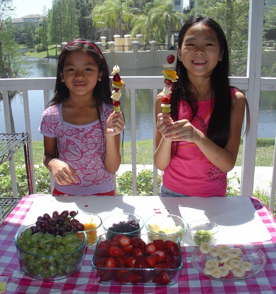 Fresh Fruit Kabobs