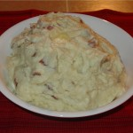 Rustic Parmesan Mashed Potatoes