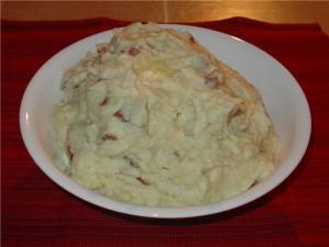 Rustic Parmesan Mashed Potatoes