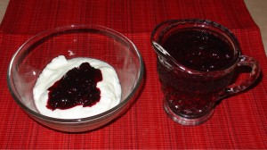 Yogurt and Fruit Compote