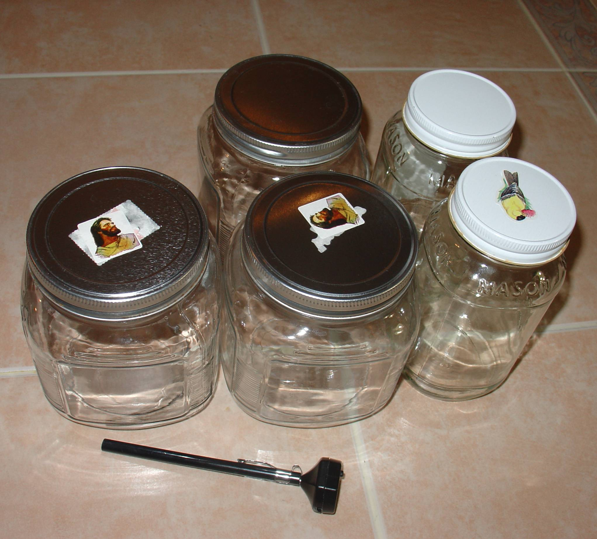 Sterilize Jars and Lids