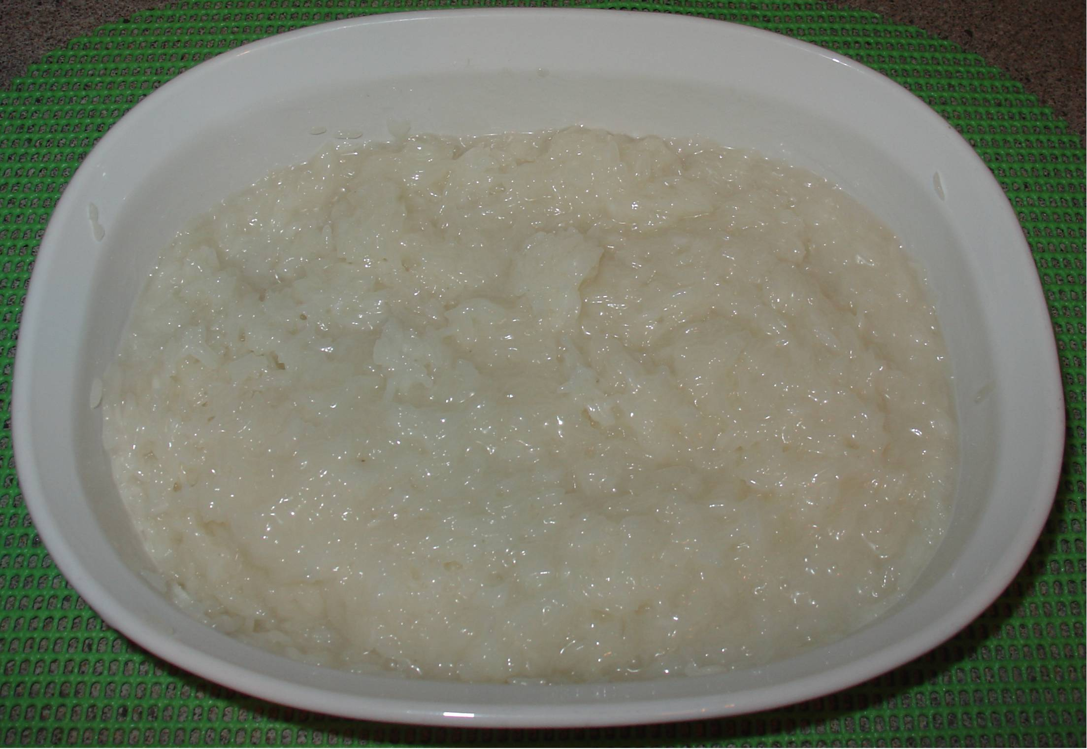 how to cook rice with coconut cream