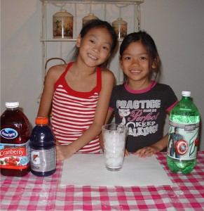 Fun Layered Drinks for Kids