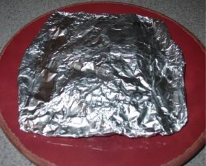 Wrap Potatoes in Foil