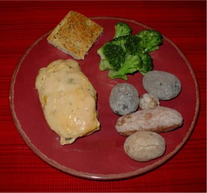 Creamy Baked Chicken Dinner