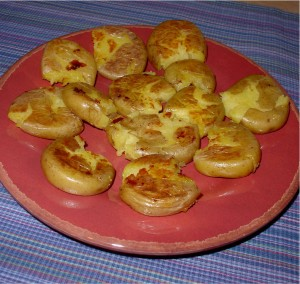 Pan Fried Honey Gold Potatoes