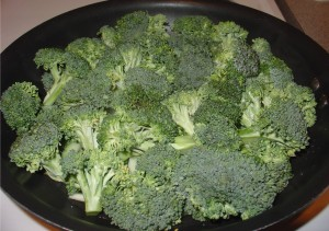 Add Broccoli Florets