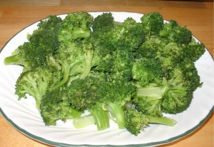 Pan Steamed Broccoli
