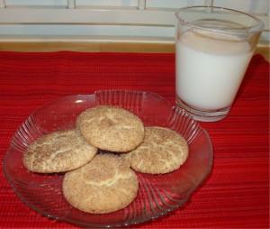 Snickerdoodles and Milk