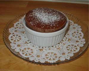how to make a chocolate souffle with cocoa powder