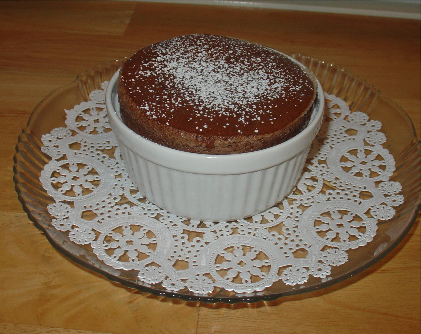 Chocolate Souffle for Two | DebbieNet.com