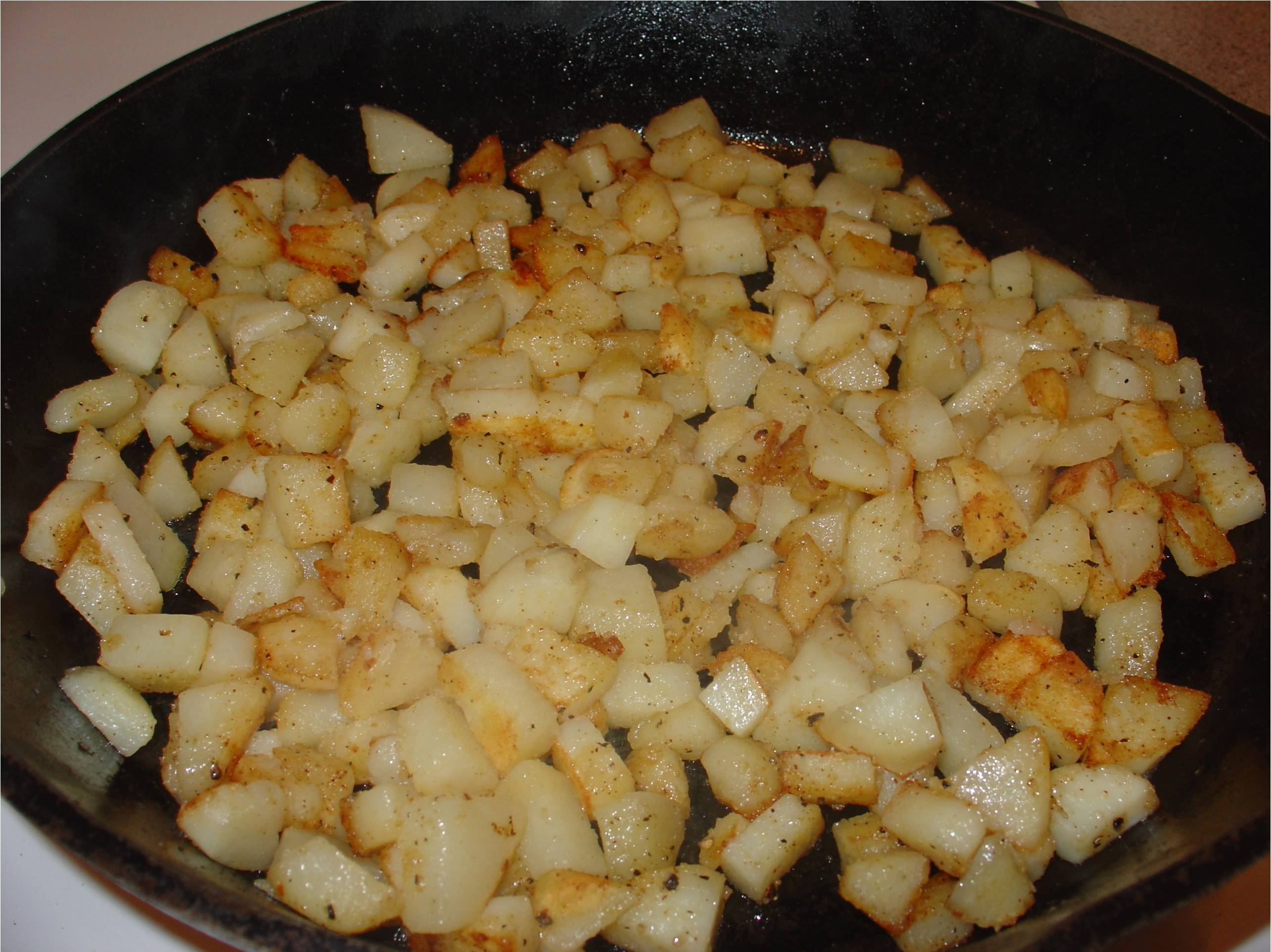 Fried Potatoes or Home Fries