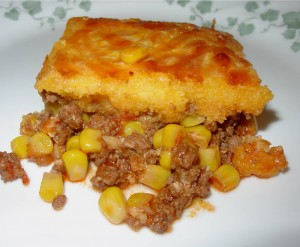 Hamburger Corn Pie