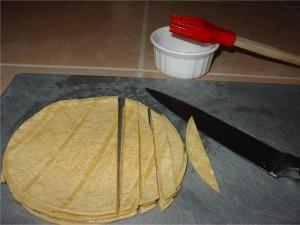Cut Corn Tortillas