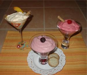 Fruit Fools - Peach, Raspberry and Cherry