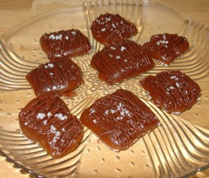 Chocolate Covered Fleur de Sel Caramels