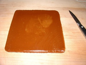 Remove Caramel from Pan