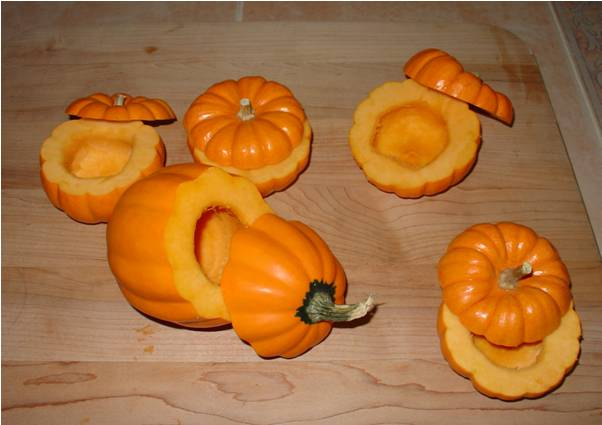 Clean out Pumpkins
