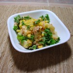 Moroccan Potato Salad with harissa paste