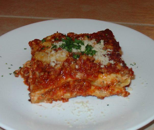 Mom's Amazing Lasagna