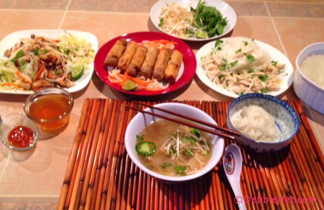 Vietnamese Food for Tet