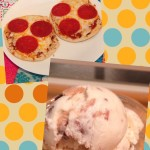 Flatbread Pizza and Ice Cream