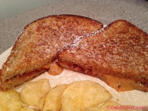 Grilled PB&J Sandwich