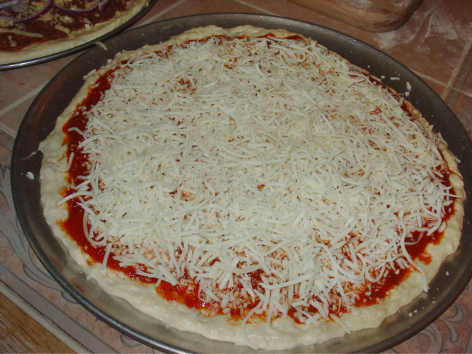 Assemble Pizzas