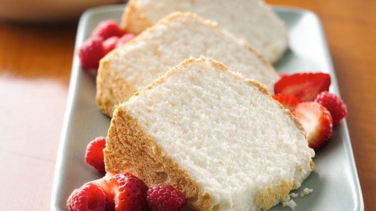 Angel Food Cake Slices