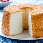 Cut Angel Food Cake