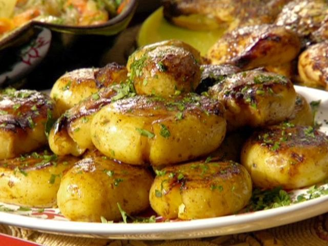 Fried Honey Gold Potatoes