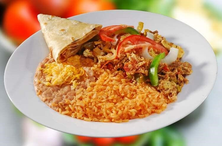 Mexican Rice Plate