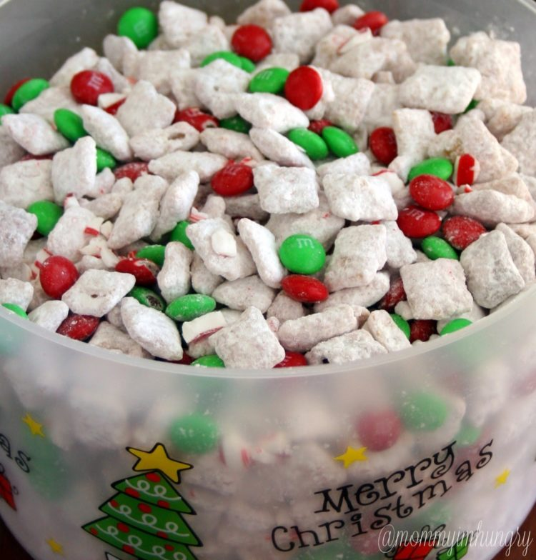 Christmas Puppy Chow.Christmas Puppy Chow Aka Reindeer Chow