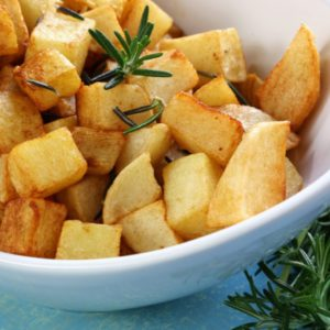 Pan Fried Potatoes with Rosemary
