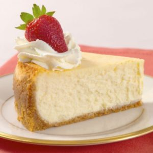 Creamy New York Style Cheesecake